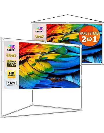 Projection Screens | Amazon com