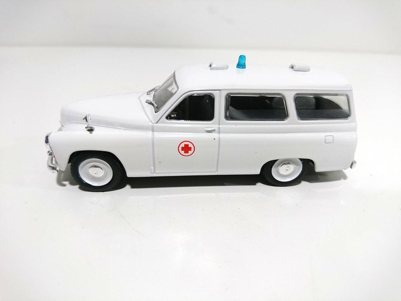 ref: P207 G/én/érique Ambulance Warszawa 202A 1//43