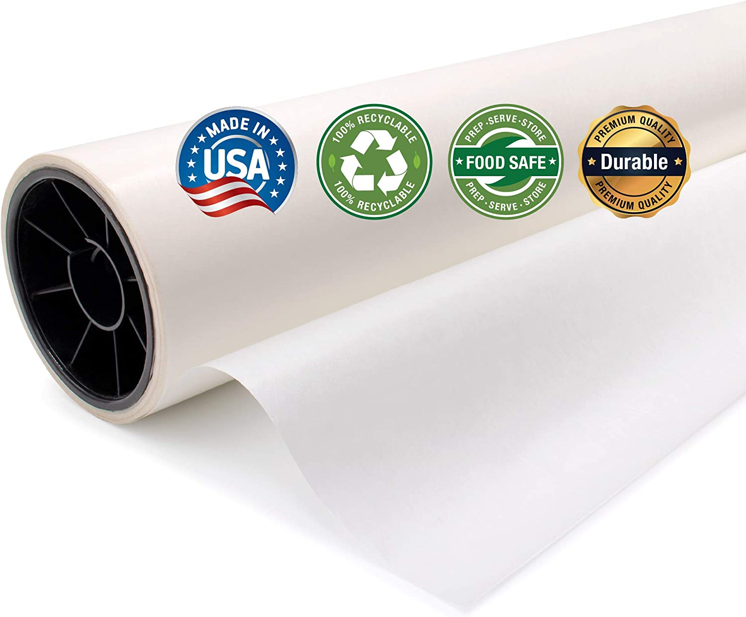 25 Pound Canson Glassine Art Paper Roll for Use as Slip Sheet to Protect Artwork 36 Inch x 10 Yard Roll