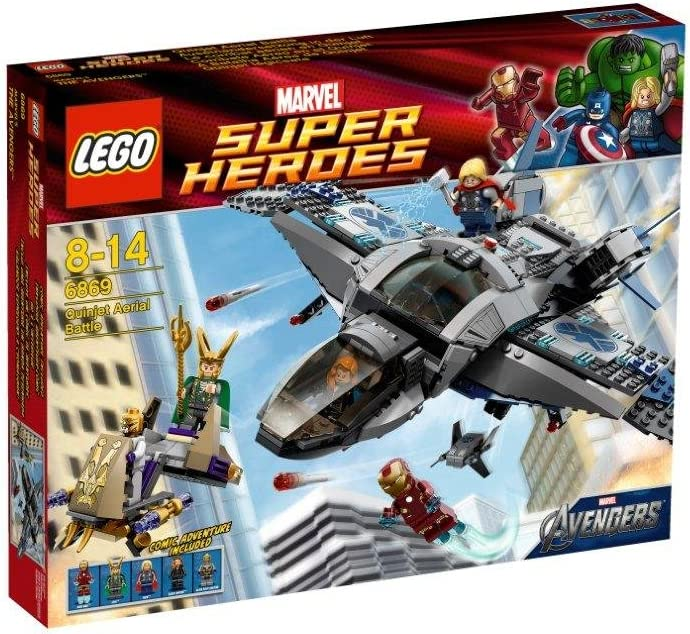 LEGO Super Heroes Iron Man & Thor Quinjet Aerial Battle Avengers| 6869