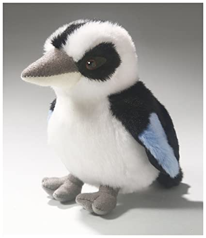 Carl Dick Kookaburra, King Fisher 6 inches, 14cm, Plush Toy, Soft Toy