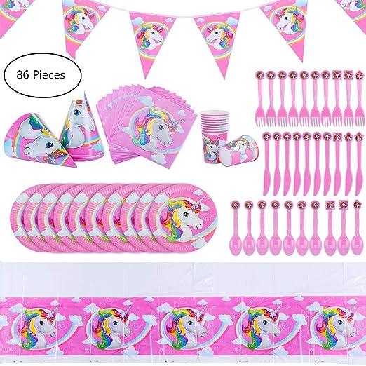 Unicornio para decorar fiestas de cumpleaños, cajas de ...