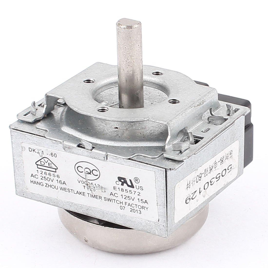 AC 250V 16A 60 Minutos Interruptor Temporizador para Electr/ónico Horno Microondas