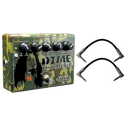 Amazon.com: Dunlop MXR DD11 Dime Pedal de distorsión W/2 ...