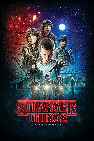 Amazon.com: Stranger Things Poster (2016) Netflix 24x36 inches A ...