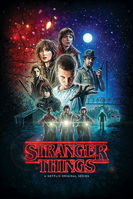 Image result for stranger things poster