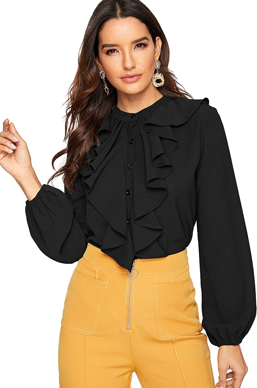 Top 8 Long Sleeve Blouses For Women Office
