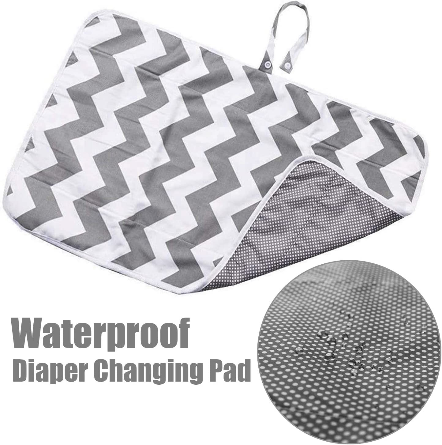 Nappy Changing Mat Portable Diaper Changing Pad Foldable Infant Urinal Pad Waterproof Baby Changing Pad for Newborn /& Toddlers Home Travel Outside