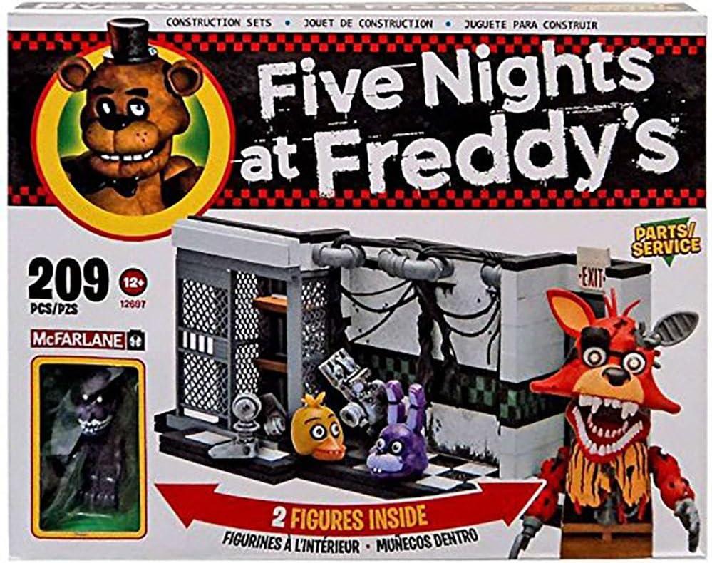 Cinco noches en Conjunto de construcción de Freddy - Piezas y Servicio: Amazon.es: Juguetes y juegos