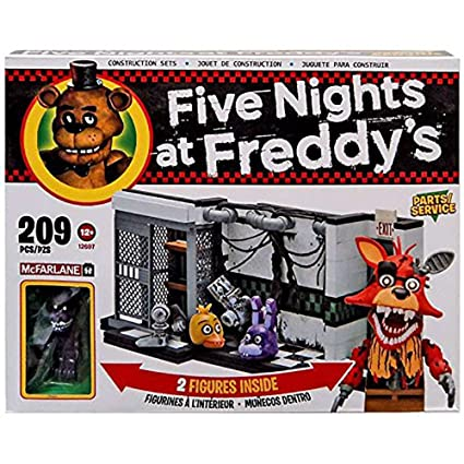 Amazon com: McFarlane Five Nights at Freddy's Parts/Service