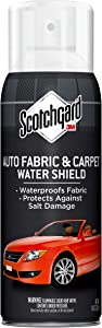 Scotchgard Auto Fabric & Carpet Water Shield, 40 Ounces (Four, 10 Ounce Cans)