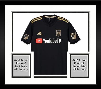 72658bb55 Framed Lee Nguyen LAFC Autographed Match-Used Black  24 Jersey vs. Houston  Dynamo on October 12