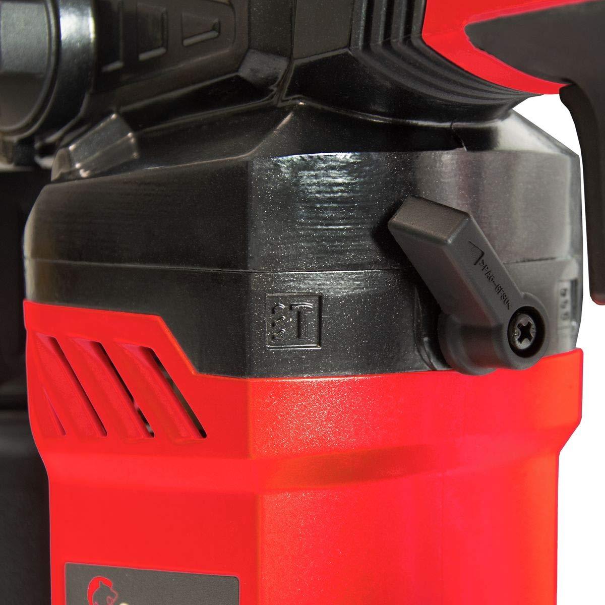 Hammerbohren Bohren Mei/ßeln Schrauben inkl SCHMIDT security tools SDS Plus Bohrhammer RH-710 Mei/ßelhammer Schlagbohrmaschine 710 W 2,6 J Schlagst/ärke Handwerker-Koffer Zubeh/ör