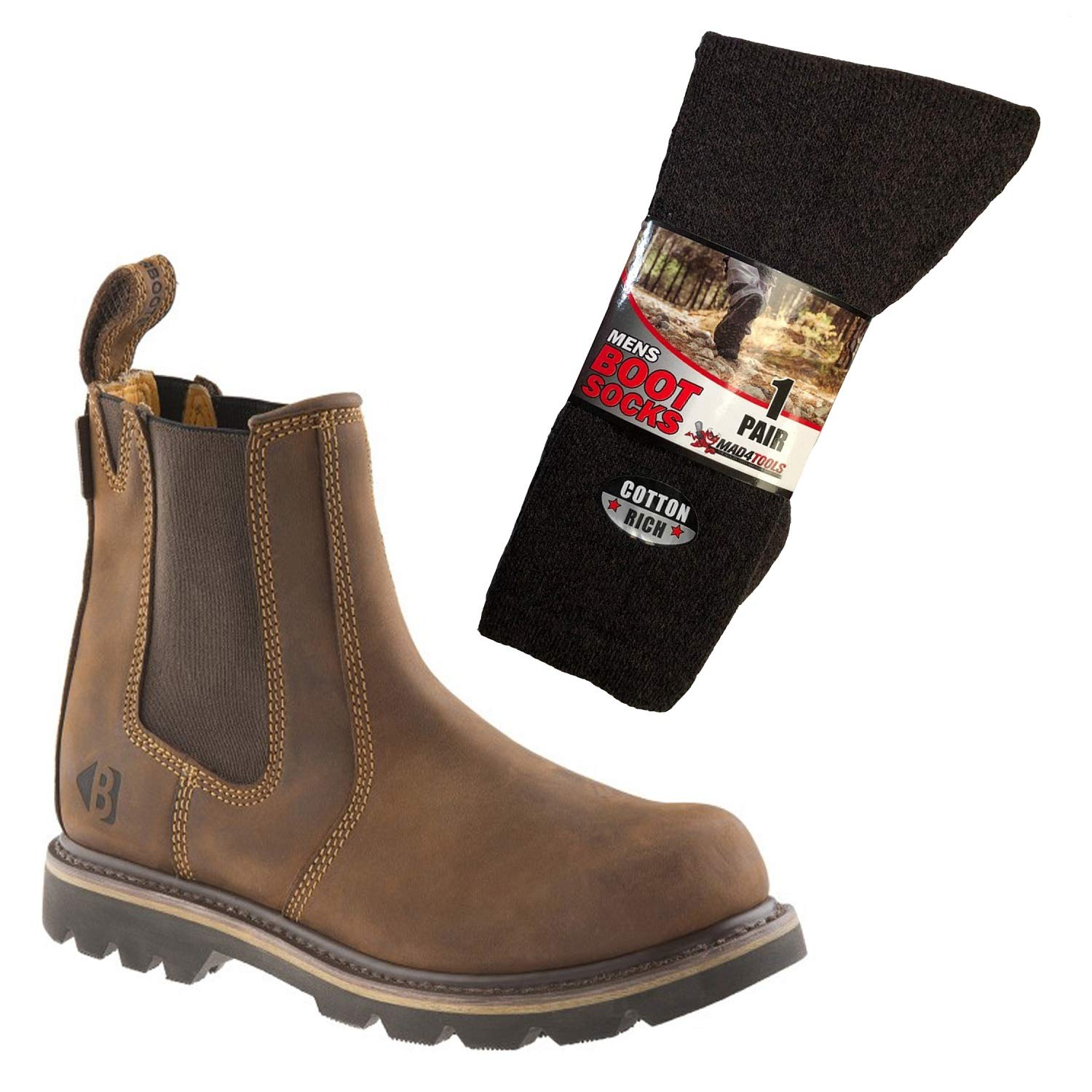 ce1148bf447 Buckler B1300 Buckflex Non-Safety Dealer Boots & mad4tools Boot ...