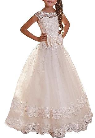 compra venta estilo clásico de 2019 múltiples colores YoYodress Vestido de la primera comunión de los vestidos de ...