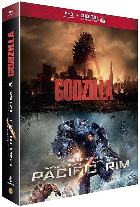 Godzilla + Pacific Rim [Francia] [Blu-ray]: Amazon.es: Aaron ...