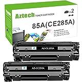 Aztech Compatible Toner Cartridge Replacement for HP 85A CE285A P1102w Toner Cartridge Used for HP Laserjet Pro P1102w M1212n