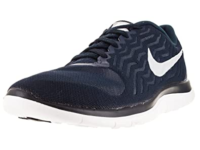Nike Mens Free 4.0 WhiteBlackPlatinum Size 11