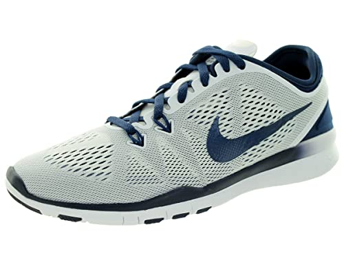 quality design b3888 cfc8b Nike Free 5.0 TR Fit 5 Women s Cross Training Shoes (5, WHITE MIDNIGHT