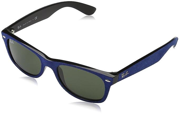 c6ed6f4a50 Ray-Ban New Wayfarer With Alcantara RB2132 6239 Non-Polarized Sunglasses