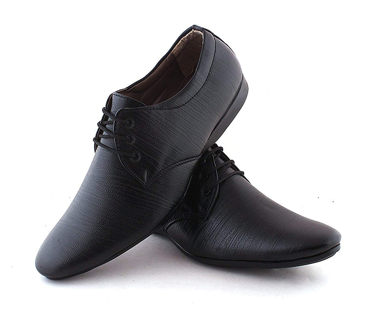 8ac85bea8f18 RJKART Leather Derby Patent Lace Up Formal Shoes for Men's Party Wear  Casual Shoes: Buy Online at Low Prices in India - Amazon.in
