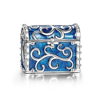 NINAQUEEN - Treasure Box - 925 Sterling Silver Charms Nickel-free YwHJBiun