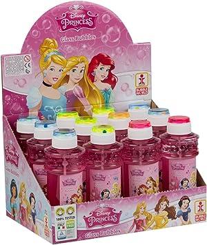 ColorBaby - Caja pomperos Princesas Disney con 12 Unidades de 300 ml (24230): Amazon.es: Juguetes y juegos