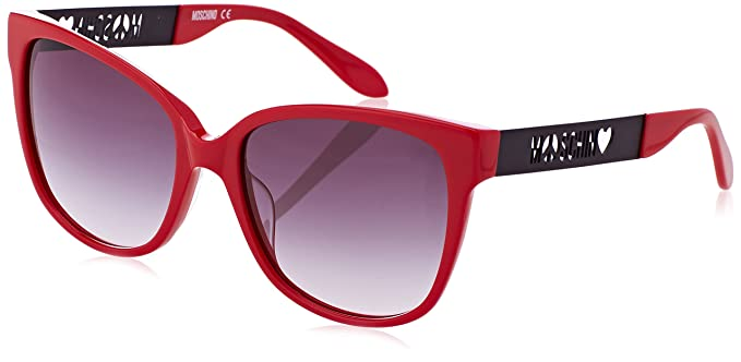 Moschino Damen Sonnenbrille Eye, Rot (Rosso), 52