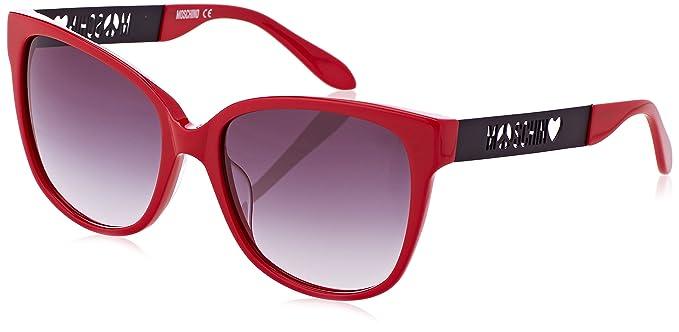 Moschino Occhiali da sole Donna Rosso (MO802S)