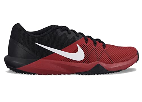 cd00519d2a29 Nike Men s Retaliation Tr Black White-Tough Red Multisport Training  Shoes-10 UK
