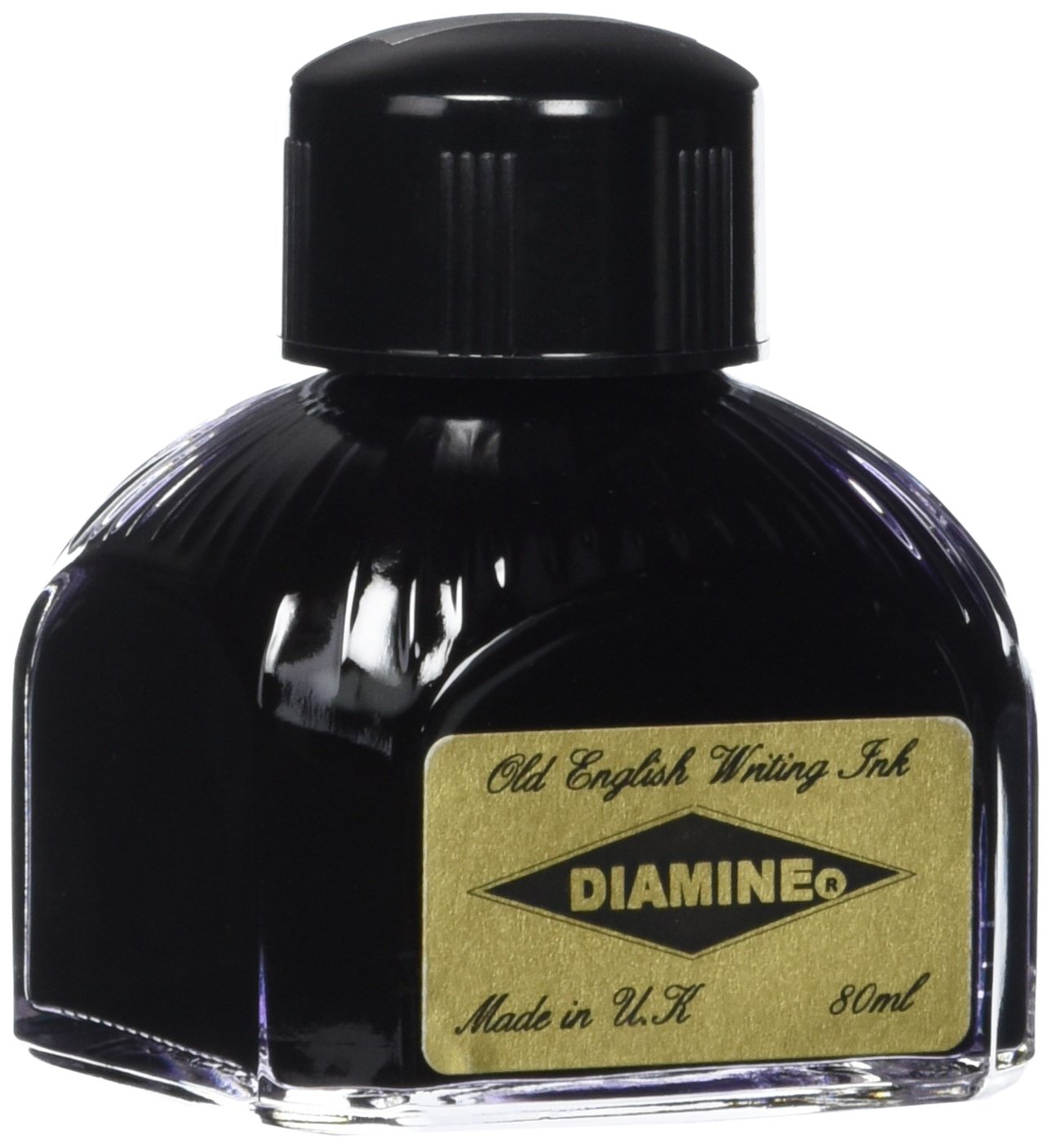Diamine - Inchiostro per penna stilografica, Quartz Black 80ml 047