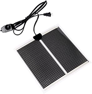 Sequoia Reptile Under Tank Heating Pad - 110V Terrarium Heating Pad Warmer Heater Mat with Temperature Control for Reptile …