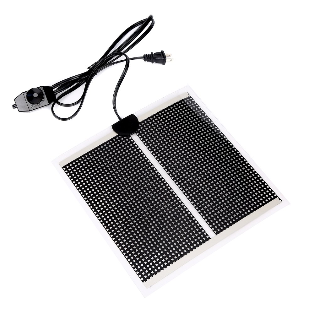 Sequoia Reptile Under Tank Heating Pad - 14W/110V Terrarium Heating Pad Warmer Heater Mat With Temperature Control For Reptile