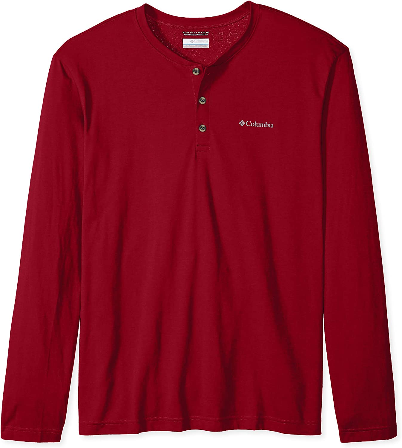 Columbia Mens Big and Tall Cullman Crest Big /& Tall Long Sleeve Henley