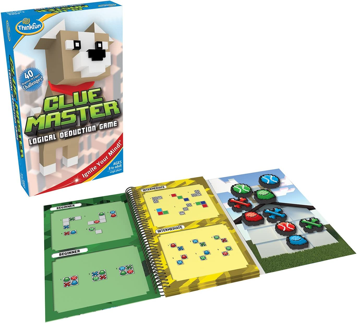 Tons of Fun with Over 20 Awards Won ThinkFun Minecraft Magnetic Travel Puzzle Logic Game /& STEM Toy /& Rush Hour Traffic Jam Brain Game and STEM Toy for Boys and Girls Age 8 and Up