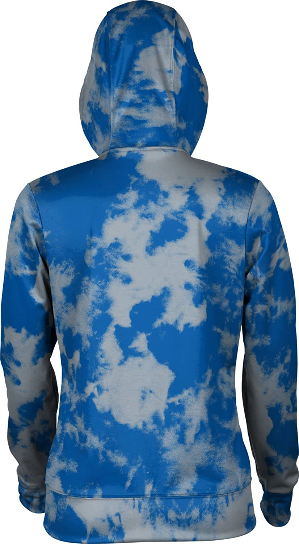 Grunge School Spirit Sweatshirt ProSphere Christopher Newport University Girls Zipper Hoodie