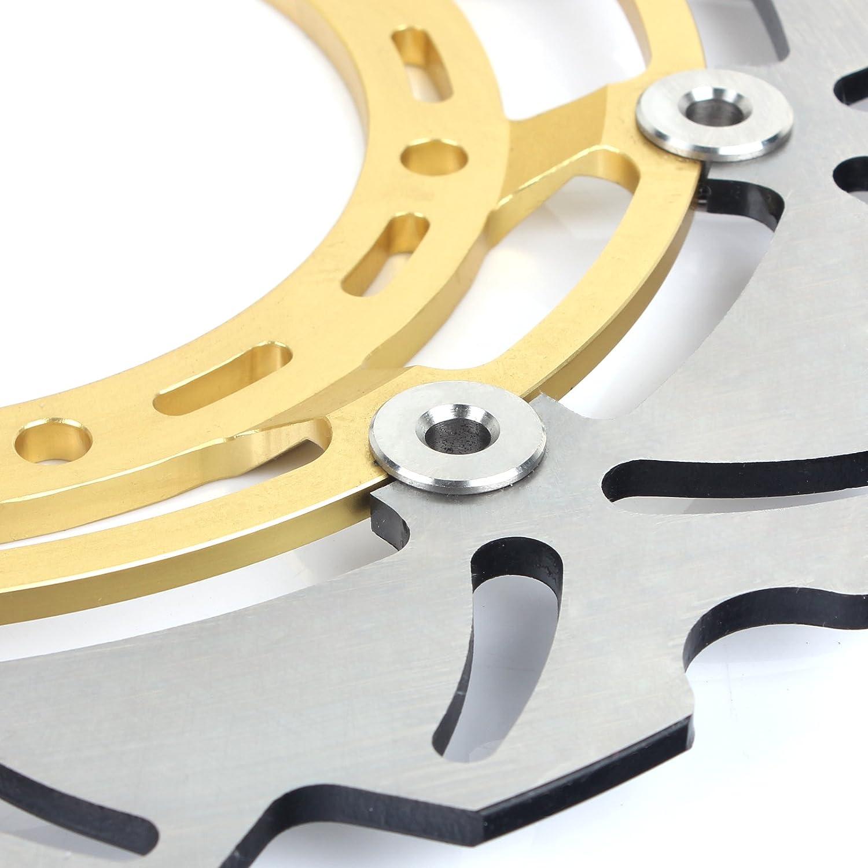 TARAZON Avant Disques de Frein pour Yamaha XT660X Supermoto 2004-2015 Gold Discs XT 660 X