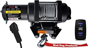 Textron 17-20 Prowler 500 3500lb Mad Dog Winch Mount Combo Arctic Cat