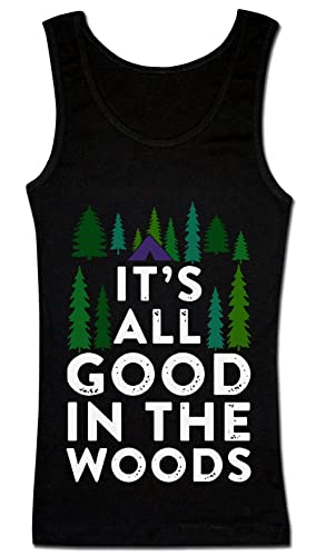 It's All Good In The Woods Camiseta sin mangas para mujer