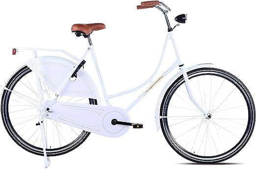 Bicicleta holandesa Capriolo 71.12 cm/Amsterdam /, amplio manillar ...