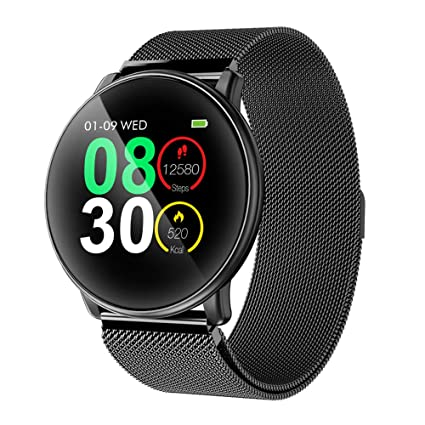 Smart Watch, UMIDIGI Bluetooth Smartwatch Compatible with iOS,Android, Waterproof IP67, Fitness Activity Tracker Heart Rate and Blood Pressure ...