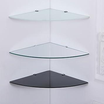 Glasboden Regal