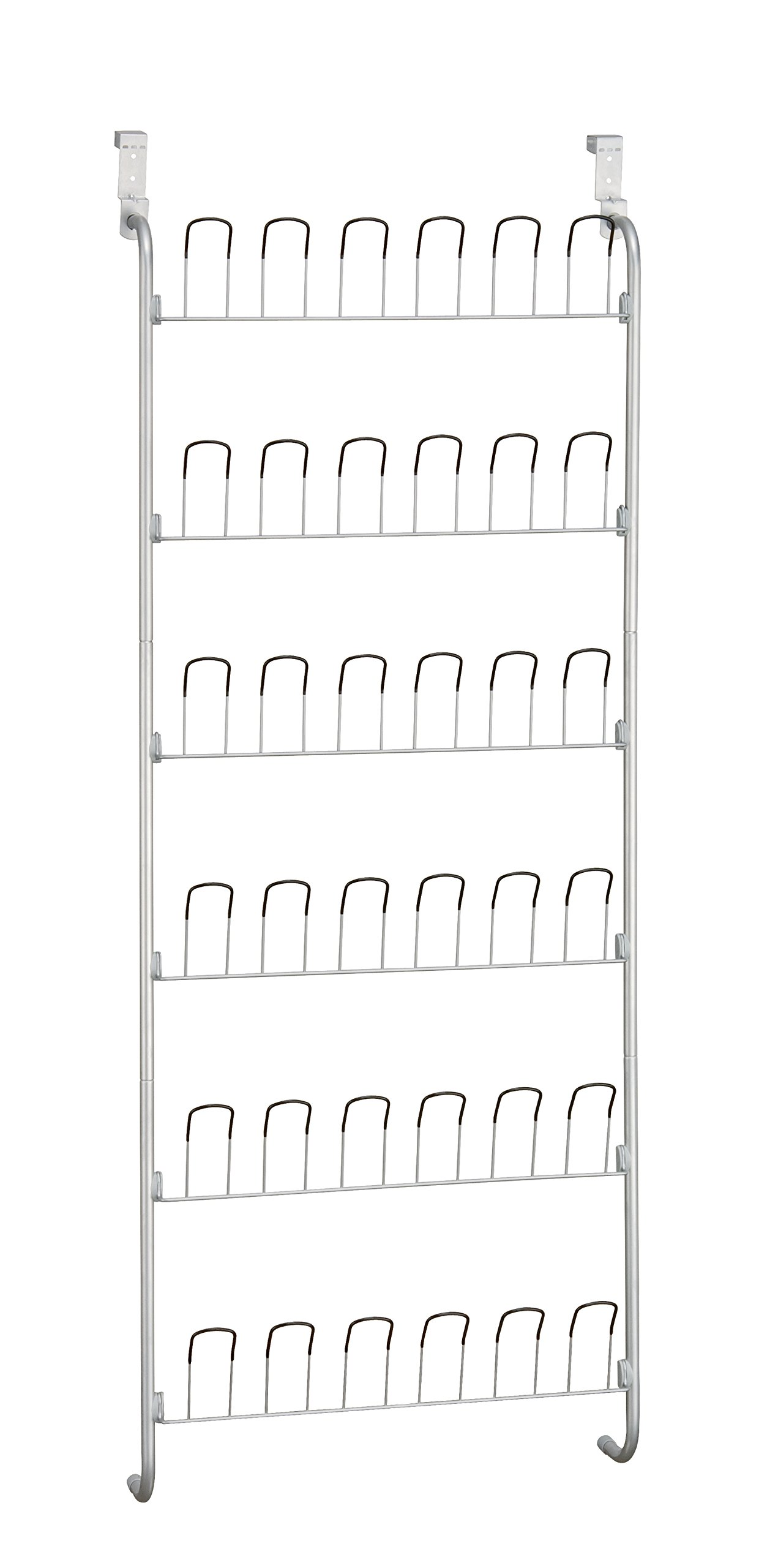 Organize It All Over-The-Door 18 Pair Hanging Wire Shoe Rack by Neu Home