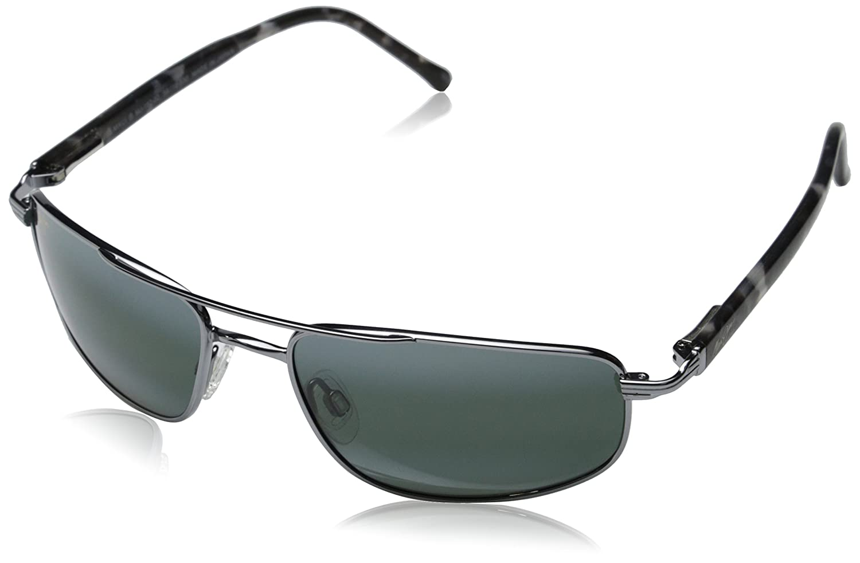 Maui Jim Kahuna Sunglasses,Gunmetal Frame/Neutral Grey ...