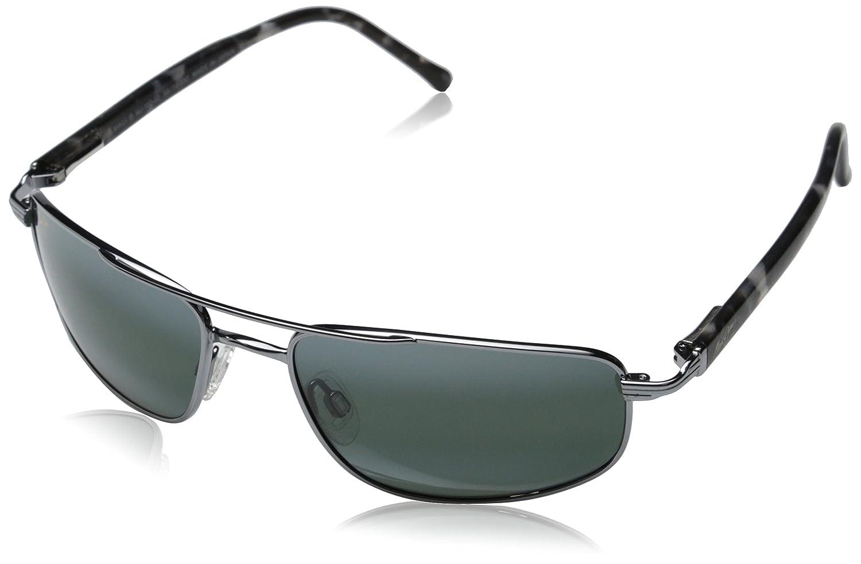4b34aefb625 Maui Jim Mens Kahuna Sunglasses (162) Metal 603429004101