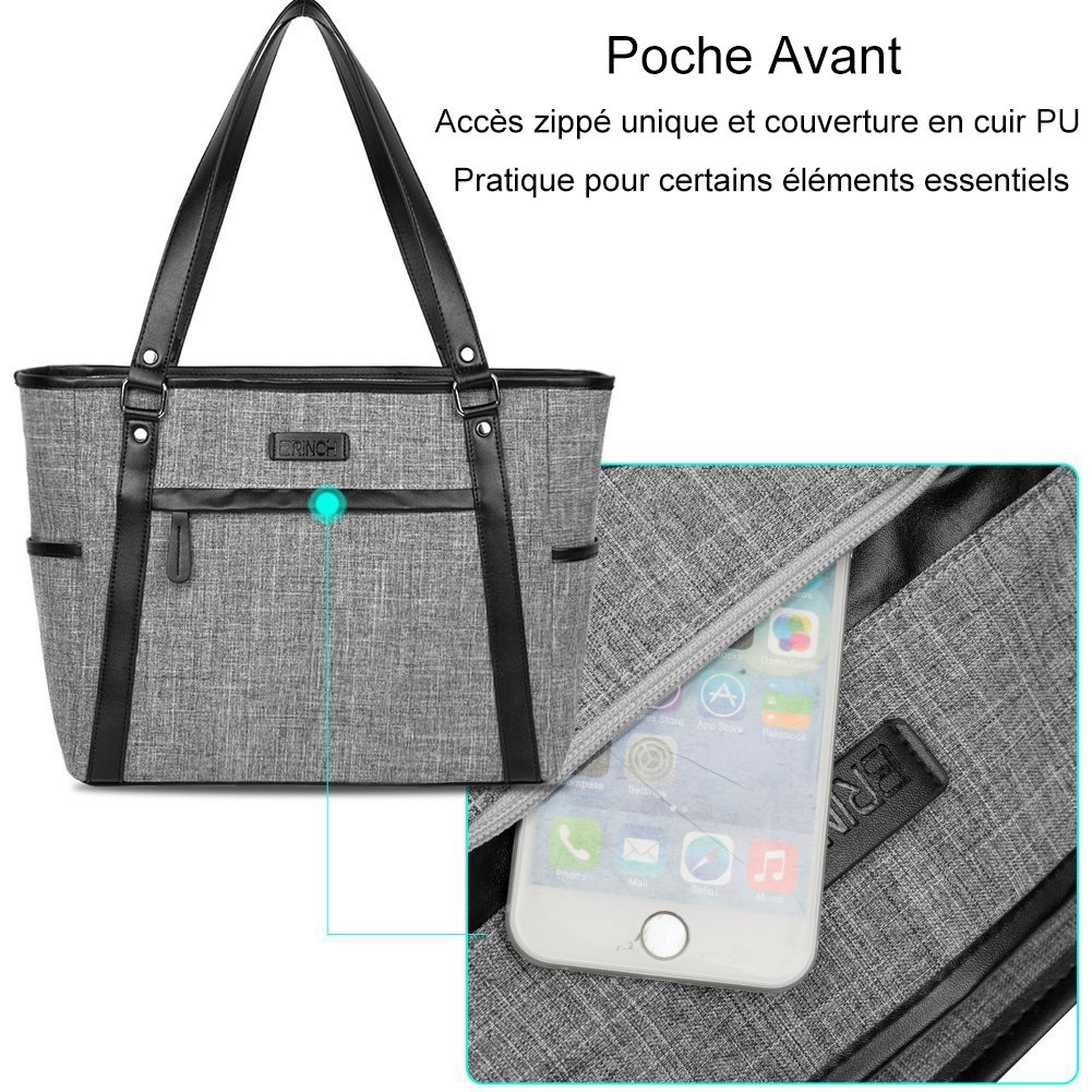Sac 8n0mnw Ordinateur Zippé Classic Shopping Portablebrinch ny0OPvNw8m