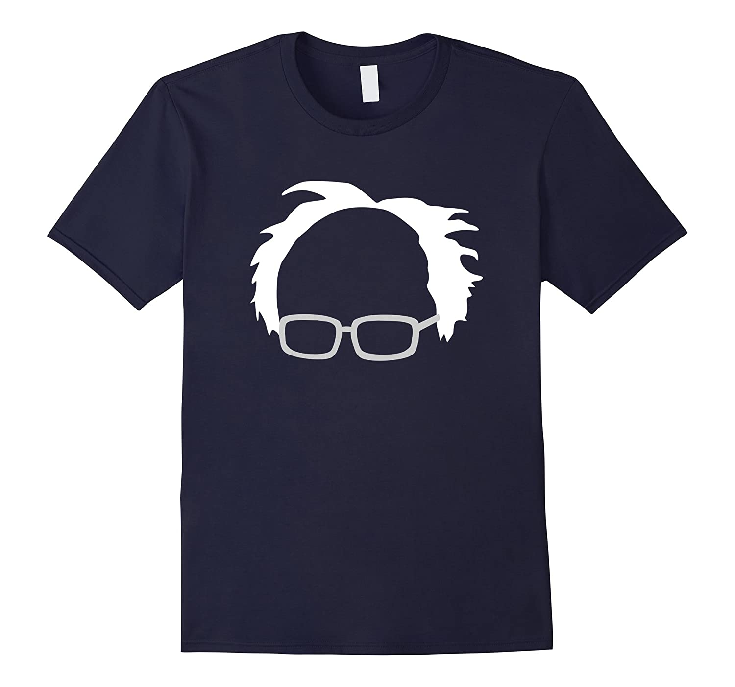 Bernie Sanders Hair And Glasses T-Shirt-T-Shirt