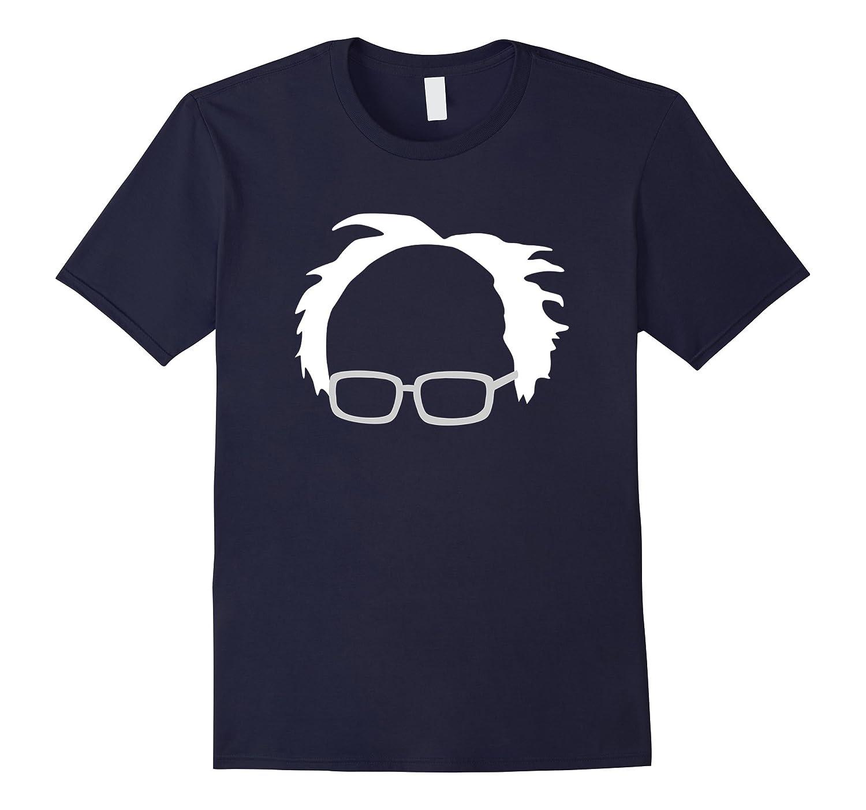 Bernie Sanders Hair And Glasses T-Shirt-Vaci