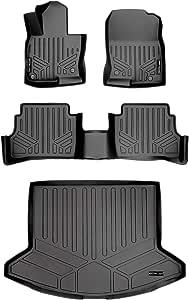 Black with Black Trim Connected Essentials CEM500 Car Mat Set for Mitsubi Shogun LWB 5dr 1992-2000 Deluxe
