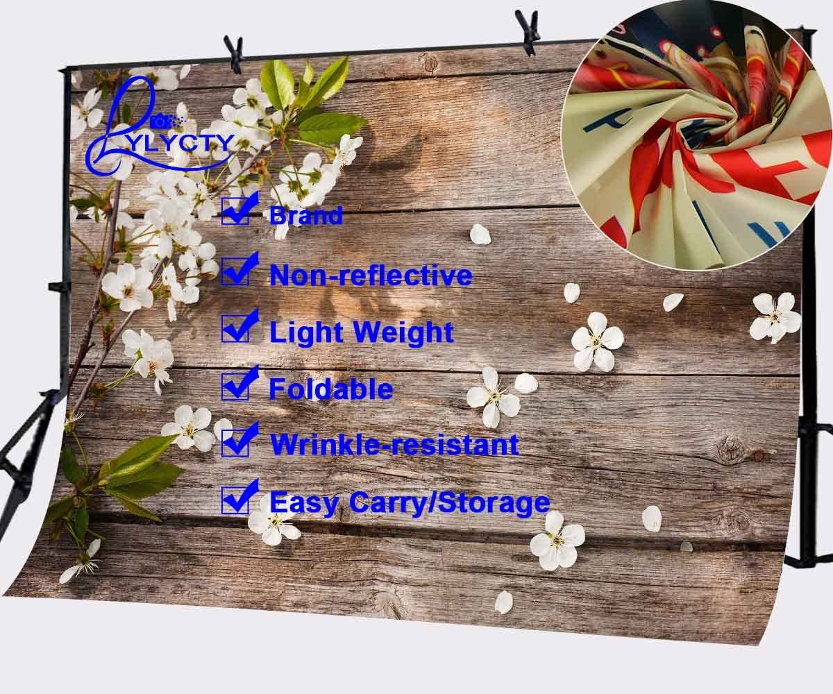 Lyly County 7x5ft Flowers Backgdrop Plank Photography Simple Aestheticism Background Photo Studio LYGE296